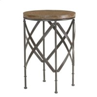 Hidden Treasures Round Metal Table Product Image