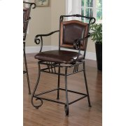 Brown Traditional Counter-height Stool Product Image