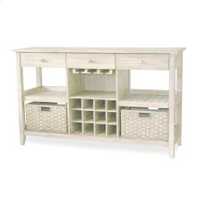 Sideboard with Wine Rack