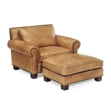Parisian Chair and Ottoman