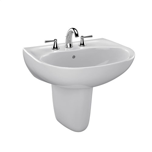 Supreme® Wall Mount Lavatory - Colonial White