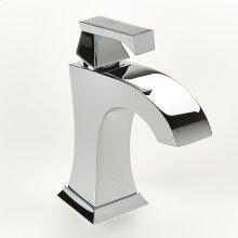 Single Lever Lavatory Faucet Leyden Series 14 Polished Chrome
