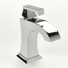 Single Lever Lavatory Faucet Leyden Series 14 Polished Chrome