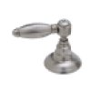 Italian Brass Italian Bath Five Hole Bidet Faucet With Hex Series Only Metal Lever