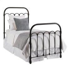 Blackened Bronze Colonnade Metal Full Bed