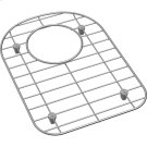 "Dayton Stainless Steel 8-7/8"" x 12-7/16"" x 1"" Bottom Grid Product Image"
