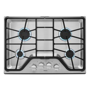 30-inch Wide Gas Cooktop with Power Burner -