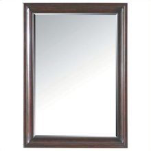 Transitional - Landscape Mirror In Polished Sable