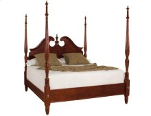 Pediment Poster Queen Bed - Complete