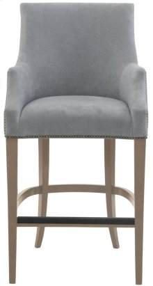 Keeley Bar Stool in Smoke