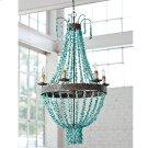 Beaded Turquoise Chandelier Product Image