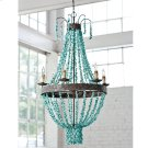 Beaded Turquoise Chandelier Product Image