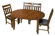 Oval Extending Leg Table