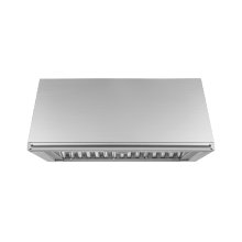 """Heritage 36"""" Epicure Wall Hood, 18"""" High, Stainless Stee"""