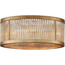 Visual Comfort NW4020GI Niermann Weeks Sophie 4 Light 14 inch Gilded Iron Flush Mount Ceiling Light, Niermann Weeks