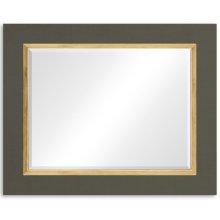 """Flannel & Gold """"Homespun"""" Mirror"""