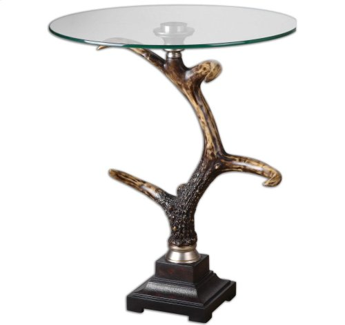 Stag Horn Accent Table