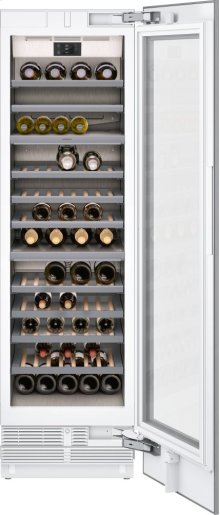 """400 Series Wine Climate Cabinet Fully Integrated, With Two Temperature Zones Niche Width 24"""" (61 Cm)"""