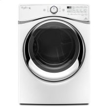 Whirlpool® 7.4 cu. ft. Duet® Steam Dryer with SilentSteel™ Dryer Drum - White