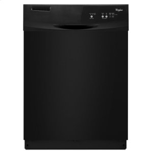 Dishwasher with Resource-Efficient Wash System - BLACK