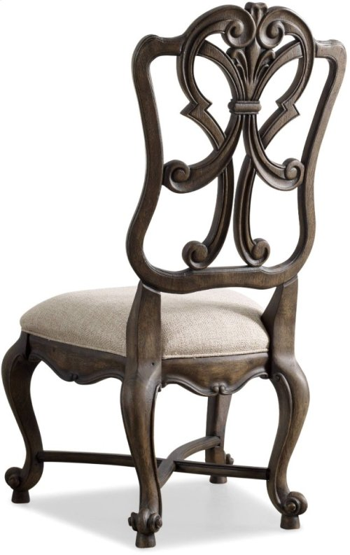 Rhapsody Wood Back Side Chair