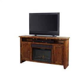 """63"""" Fireplace Console"""
