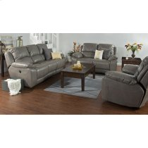 Idaho Dual Power Recliner Sofa Product Image