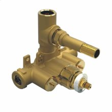 Rough Valve Only Single Outlet Dual Handle Therm Valve