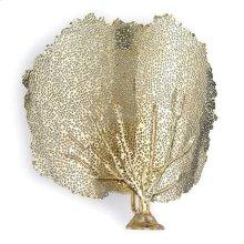 Sea Fan Sconce (brass)