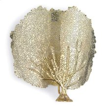 Sea Fan Sconce (brass)