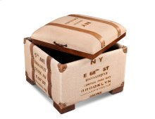 Sunset Trading Explorer Storage Ottoman - Sunset Trading