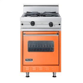 "Pumpkin 24"" Wok/Cooker Companion Range - VGIC (24"" wide range with wok/cooker, single oven)"