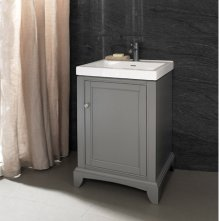 "Smithfield 21x18"" Vanity - Medium Gray"