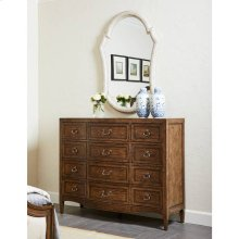 Thoroughbred Canterbury Dressing Chest - Toast