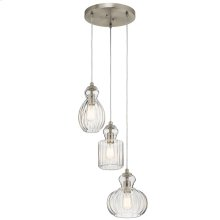 Riviera Collection Riviera 3 Light Pendant NI