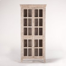 "Coral Gables 38"" Tall Cabinet Whitewash"