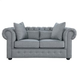 Love Seat with 4 Pillows