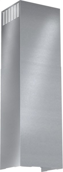 HCBEXT5UC Box Canopy Chimney Hood Duct Extension Accessory Kit 500 Series - Stainless Steel