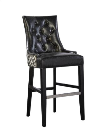 Black Serengeti Bar Stool Product Image