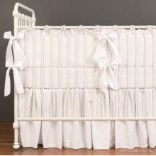 Bebe Pique Nursery Collection White