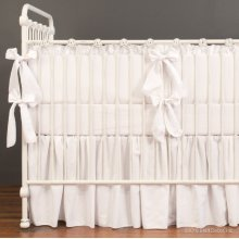 Bebe Pique Nursery Collection White