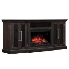 Grand TV Stand with Electric Fireplace