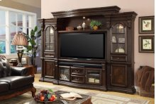 """67"""" TV Console With Power Center"""