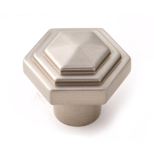 Geometric Knob A1535 - Satin Nickel