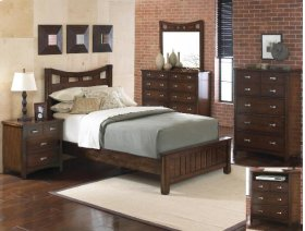 Fontaine Queen Footboard Pu