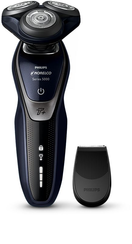 Norelco Shaver 5550 Wet & dry electric shaver, Series 5000