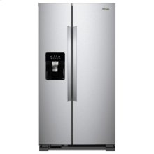 Whirlpool® 33-inch Wide Side-by-Side Refrigerator - 21 cu. ft. - Fingerprint Resistant Stainless Steel