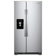 Whirlpool® 33-inch Wide Side-by-Side Refrigerator - 21 cu. ft. - Fingerprint Resistant Stainless Steel