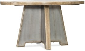 Urban Elevation 54in Metal Dining Table