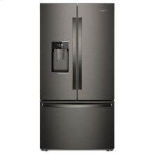 Whirlpool® 36-inch Wide Smart Counter Depth French Door-within-Door Refrigerator - 24 cu. ft. - Print Resist Blk Stnlss